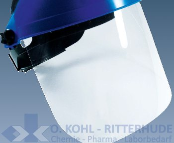 Acetat- Scheibe, 1 mm, für Gesichtsschutzschirm