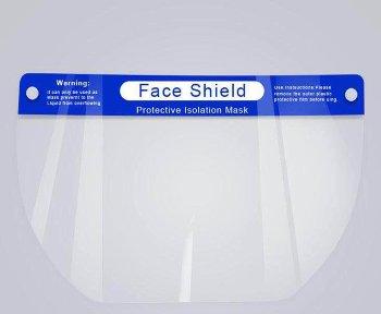 Faceshield Schutzschild, Gesichts-, Augen- Spuckschutz