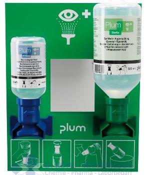 Augen-Notfallstationen mit 500 ml Phosphatpuffer