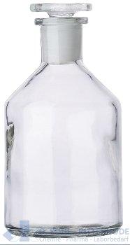 Steilbrustflaschen, enghals, Klarglas