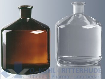 Bürettenflasche, Klarglas, NS 29/32