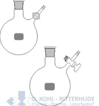 Stickstoff-Rundkolben (Schlenkkolben)