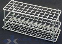 Reagenzglasgestell, Draht-PE beschichtet