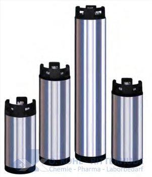 Druckfeste Edelstahlpatrone, ca.26 Liter