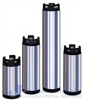 Druckfeste Edelstahlpatrone, ca.17/18 Liter